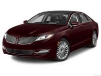 Clean CARFAX. Red 19/28 City/Highway MPG 2013 Lincoln