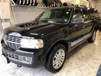 Black 2013 Lincoln Navigator L 4WD 6-Speed Automatic