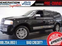 2013 Lincoln Navigator. 4 Wheel Drive! Nav! This
