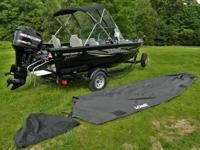 2013 Lowe Fishing Machine 175 Pro Series (115 HP