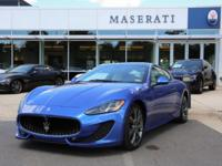 This outstanding example of a 2013 Maserati GranTurismo