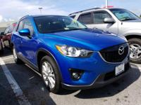 CARFAX One-Owner. Clean CARFAX. Sky Blue 2013 Mazda
