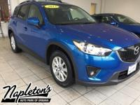 Recent Arrival! 2013 Mazda CX-5 in Stormy Blue Mica,