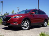 2013 Mazda CX-9 Grand Touring in Zeal Red Mica, This
