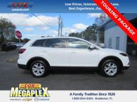 This 2013 Mazda CX-9 Touring in White is well equipped