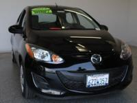 2013 Mazda Mazda2 Sport 4D Hatchback Brilliant Black