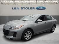 This 2013 Mazda3i SV is nicely equipped. AUTOMATED
