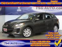 **** FRESH IN FOLKS! THIS 2013 MAZDA 3 HAS JUST ARRIVED