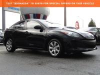 2013 Mazda Mazda3 i 2.0L 4-Cylinder Black 40/28