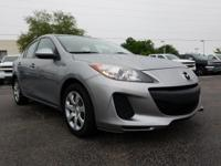 Dolphin Gray 2013 Mazda Mazda3 i SV FWD 5-Speed Manual