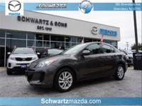 *CarFax One Owner!* This Mazda MAZDA3 i Touring has