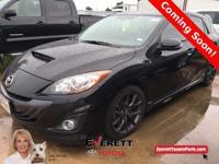 2013 Mazda Mazda3 MazdaSpeed3 Black. MZR 2.3L