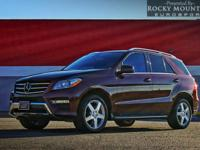 OVERVIEW This 2013 Mercedes-Benz M-Class 4dr ML550 ONE