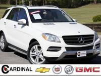 New Price! 2013 Mercedes-Benz M-Class ML 350 Arctic