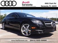 This CLS-550 includes Premium and Driver Assist