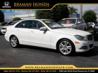 2013 Mercedes-Benz C-Class 4 Dr Sedan C250 Sport Our