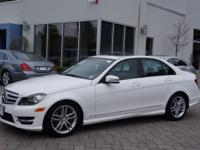 2013 certified pre owned c300 4matic ... polar white