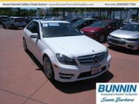 Options:  2013 Mercedes C250 White|Internet Special*