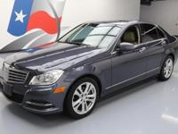 2013 Mercedes-Benz C-Class with 1.8L Turbocharged I4