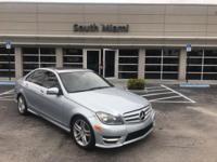 Check out this gently-used 2013 Mercedes-Benz C-Class