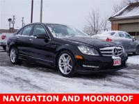 4MATIC*MOONROOF*NAVIGATION* 8 Speakers, Auto-dimming