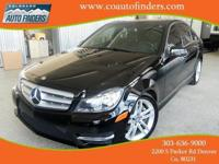 2013 Black Mercedes C300 4Matic For Sale in