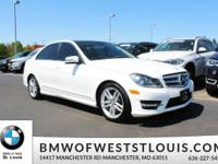 Our 2013 C300 4Matic Sport Sedan in Polar White is