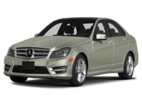 Options:  2013 Mercedes C-Class C300 4Matic|Miles: