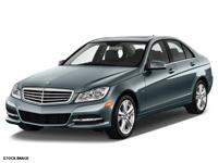Don't miss out on this 2013 Mercedes-Benz C-Class 4DR