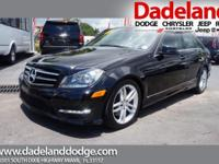 This 2013 Mercedes-Benz C-Class C 300 Luxury with Navy,
