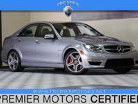 Options:  2013 Mercedes C63 Amg Grey 6.2L V8 Automatic