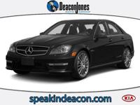 CARFAX 1-Owner, GREAT MILES 49,002! C63 AMG trim.
