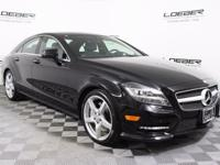 2013 Mercedes-Benz CLS-Class CLS550 4MATIC Black with