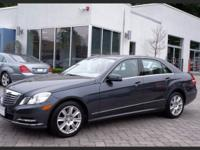 2013 CERTIFIED PRE OWNED E350 4MATIC ... STEEL GREY