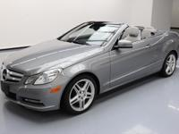 This awesome 2013 Mercedes-Benz E-Class comes loaded
