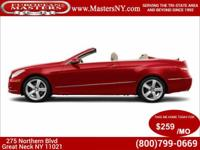 This Amazing Red 2013 Mercedes-Benz E350 Convertible