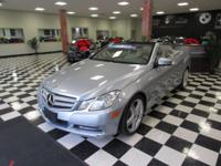 This 2013 Mercedes Benz E-Class With a lunar blue