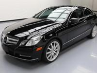 2013 Mercedes-Benz E-Class with Premium 1 Package,3.5L