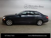 4MATIC! All Wheel Drive! 2013 Mercedes-Benz E-Class