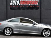 This 2013 Mercedes-Benz E-Class 2dr 2dr Coupe E 550 RWD