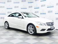 Check out this gently-used 2013 Mercedes-Benz E-Class