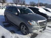 Check out this gently-used 2013 Mercedes-Benz M-Class