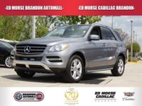 This 2013 Mercedes-Benz M-Class ML350 is offered to you