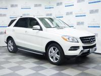 This 2013 Mercedes-Benz M-Class ML 350 is proudly
