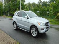 New Price! Silver 2013 Mercedes-Benz M-Class ML 350 RWD