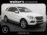 Options:  2013 Mercedes M-Class Ml 350|Arctic