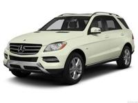ML 350 trim. Moonroof, Heated Seats, Aluminum Wheels,