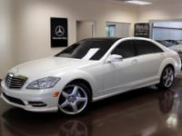 You are viewing a stunning 2013 Mercedes-Benz S550 with