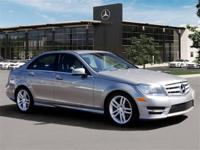 Pre-Owned 2013 Mercedes-Benz C250. Palladium Silver