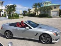 2013 SL63 AMG Mercedes-Benz Roadster. New was